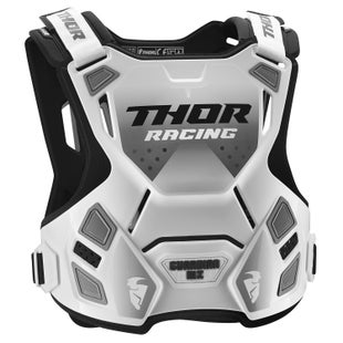 Thor Protect Guardian Mx Chest Protection - White