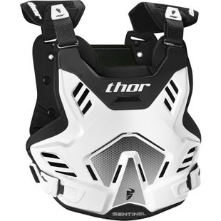 Thor Sentinel Gp Protector , Chest Protection - White