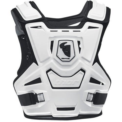 Thor Sentinel Protector Back Protector - White Black