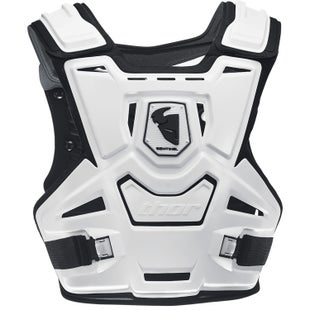 Thor Youth Sentinel Protector Chest Protection - White Black