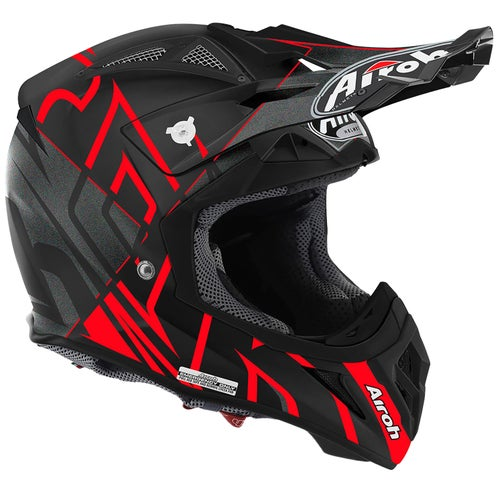 Airoh Aviator 2.2 Motocross Helmet - Styling Red