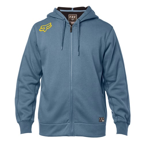 Fox Racing Reformed Sherpa Zip Hoody - Blu Stl