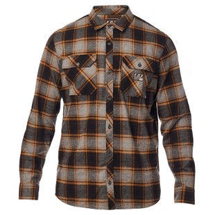 Fox Racing Traildust Flannel Shirt - Htr Graph