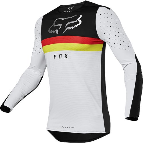 Fox Racing Flexair LE Motocross Jerseys - Black White