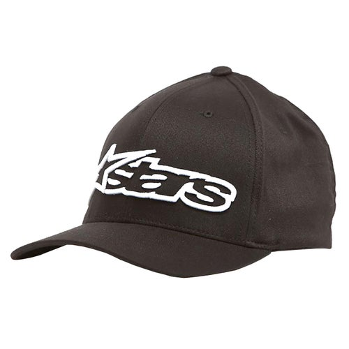 Alpinestars Blaze Flexfit , Cap - Black White