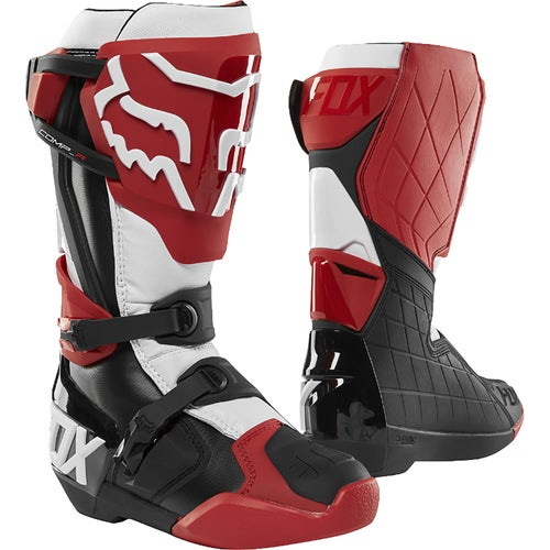 Fox Racing Comp R Motocross Boots - Rd/blk/wht