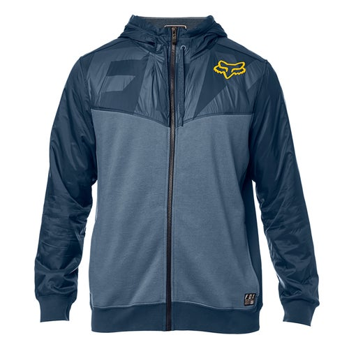 Fox Racing Axle Zip Fleece Zip Hoody - Nvy