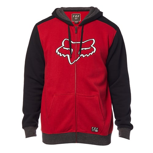 Fox Racing Destrakt Zip Fleece Hoody met Rits - Crdnl