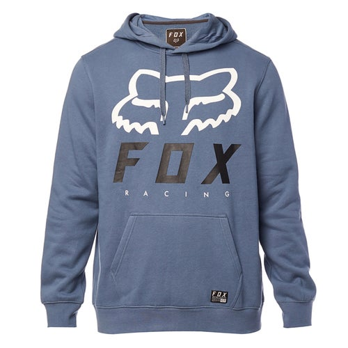 Fox Racing Heritage Forger Fleece Pullover Hoody - Blu Stl