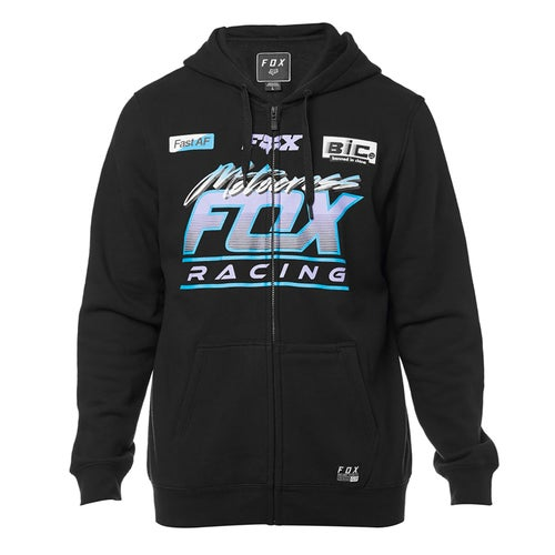 Fox Racing Jetskee Fleece Zip Hoody - Blk