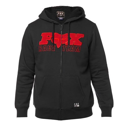 Fox Racing Race Team Sherpa Pullover Hoody - Blk
