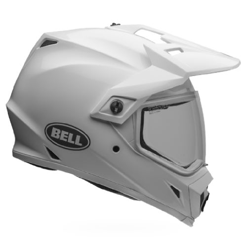 Bell Mx-9 Mips Adventure Helmet - White