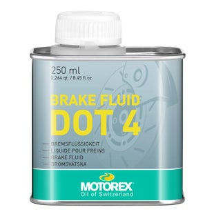Motorex Dot4 250gr , Brake Fluid - Clear