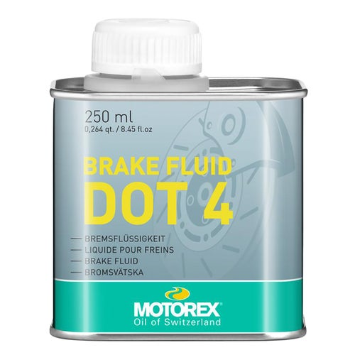 Motorex Dot4 250gr Brake Fluid - Clear