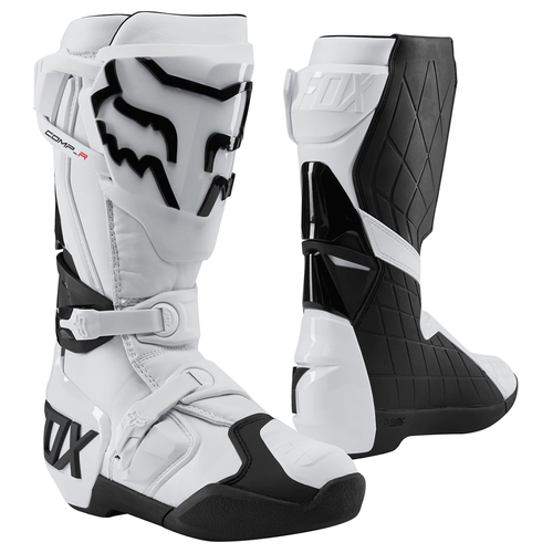 Fox Racing Comp R Motocross Boots - Wht