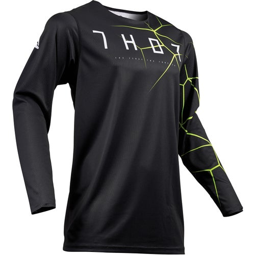 Thor Prime Pro Motocross Jerseys - Black