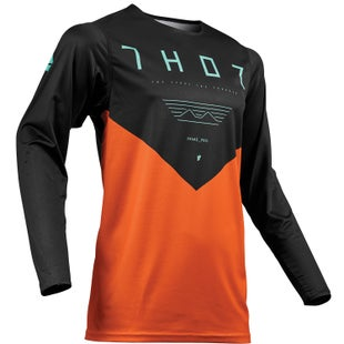 Thor Prime Pro Motocross Jerseys - Orange