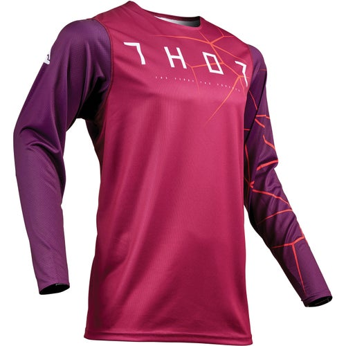 Thor Prime Pro Motocross Jerseys - Red