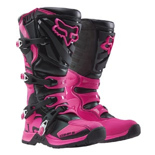 Fox Racing Comp 5 Motocross Boots - Black/Pink