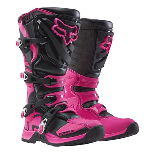 Fox Racing Comp 5 Womens Motocross Boots - Black/Pink