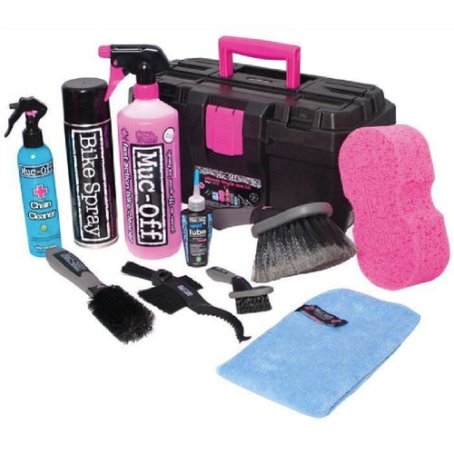 Muc Off Ultimate Motocross Bike Cleaning Tool Box Cleaning Products - Clear