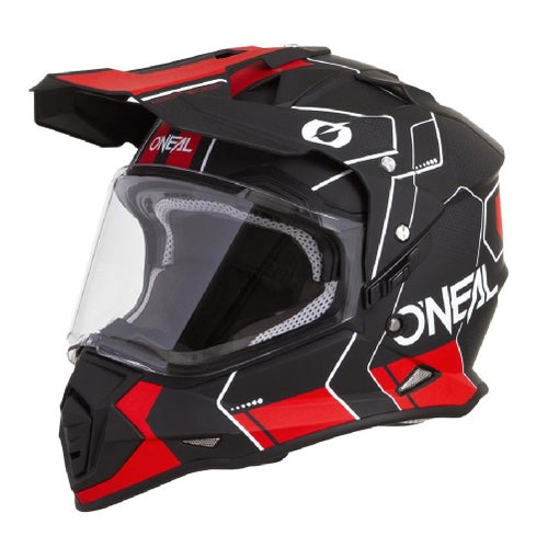 O Neal Sierra II Comb Adventure Helmet - Black/Red