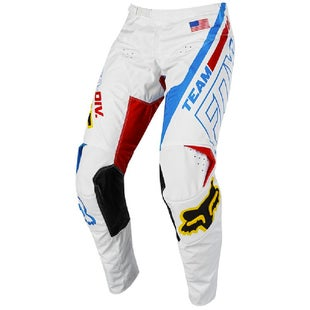 Fox Racing 180 LE Red White and True Motocross Pants - Red/White/Blue