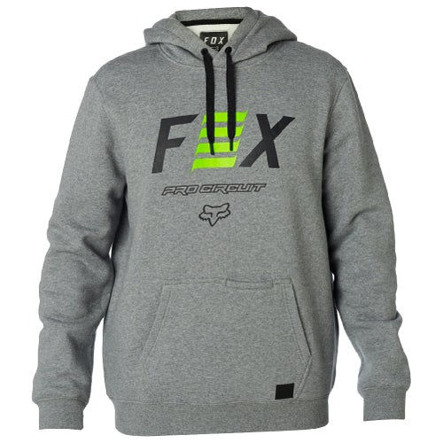 Fox Racing Pro Circuit Fleece Pullover Hoody - Heather Graphite