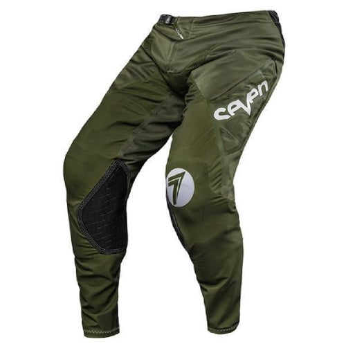 Seven 182 Zero Neo YOUTH Boys Motocross Pants - Olive / White
