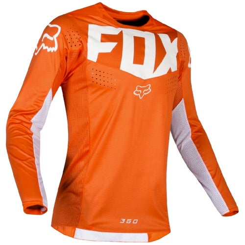 Fox Racing 360 Kila Motocross Jerseys - Orange