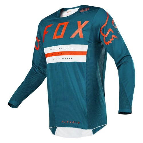 Fox Racing Flexair Preest LE Motocross Jerseys - Green