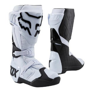 Fox Racing 180 Motocross Boots - White