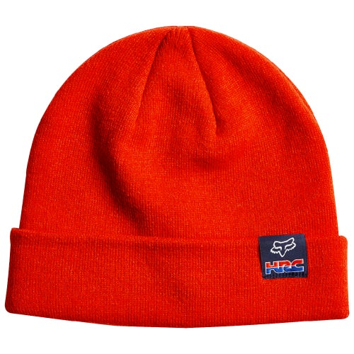 Fox Racing HRC Roll MX Track Beanie - Red