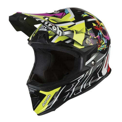 Kask MX Airoh Archer Youth - Mistery Yellow