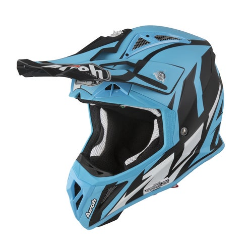 Airoh Aviator 2.3 MX Helm - Azzure Matt