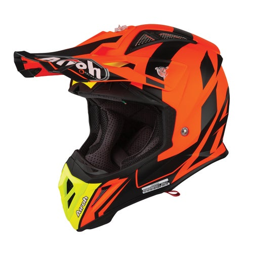 Airoh Aviator 2.3 Motocross Helmet - Bigger Orange
