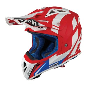 Airoh Aviator 2.3 Motocross Helmet - Bigger Red