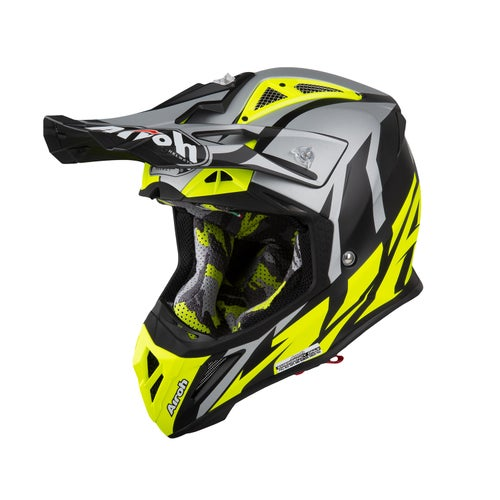 Airoh Aviator 2.3 Motocross Helmet - Great Yellow
