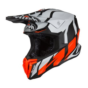 Airoh Twist Motocross Helmet - Great Orange Matt