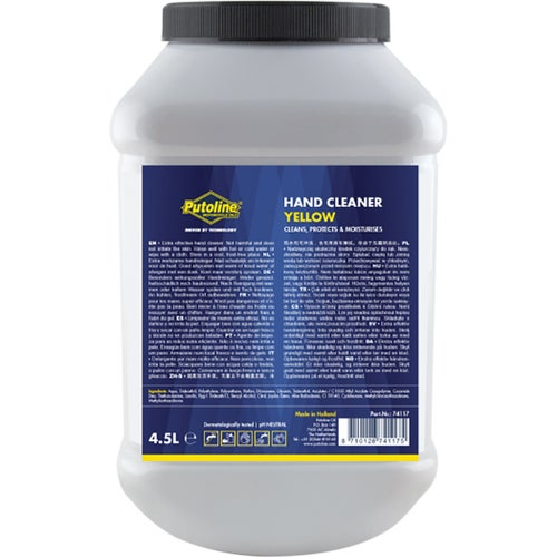 Cleaning Products Putoline Hand Cleaner Yellow - 4.5 Litre