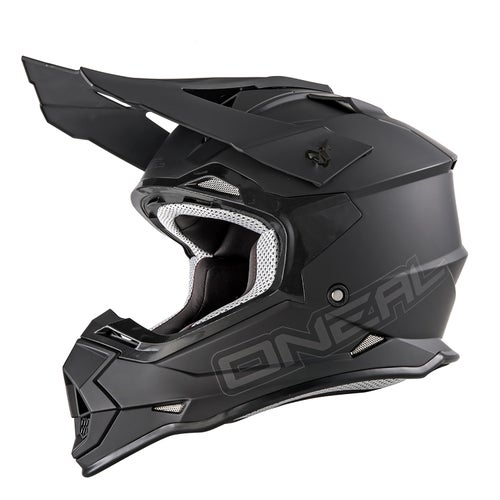 Casco MX O Neal 2series Rl Helmet Flatt - Black