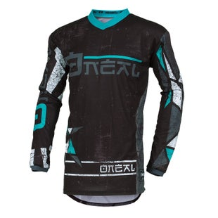 O Neal Element Jersey Zen Motocross Jerseys - Teal