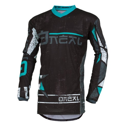 O Neal Element Zen Motocross Jerseys - Teal