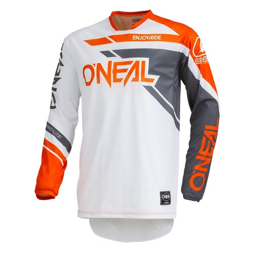 Maglia MX O Neal Hardwear Jersey Rizer - Gray/orange