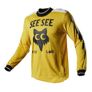 Fox Racing LE See See Motocross Jerseys - Yellow