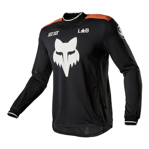 Fox Racing LE See See Motocross Jerseys - Black