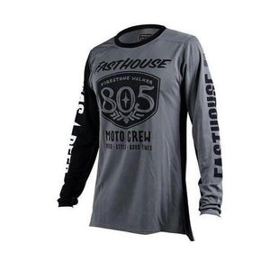 Fasthouse 805 Shield Air Cooled Motocross Jerseys - Grey