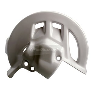 Polisport Plastics Front Disc Guard HONDA CRF 250R 04 Brake Disc Guard - 09 White
