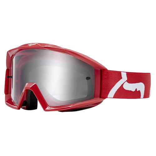 Fox Racing Main Race Motocross Goggles - Red