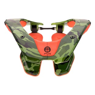Atlas AirBrace , Neck Brace - Camo Orange